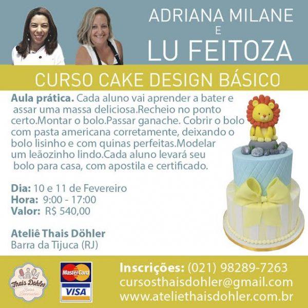 Revista Eno Estilo Curso Cake Design Basico